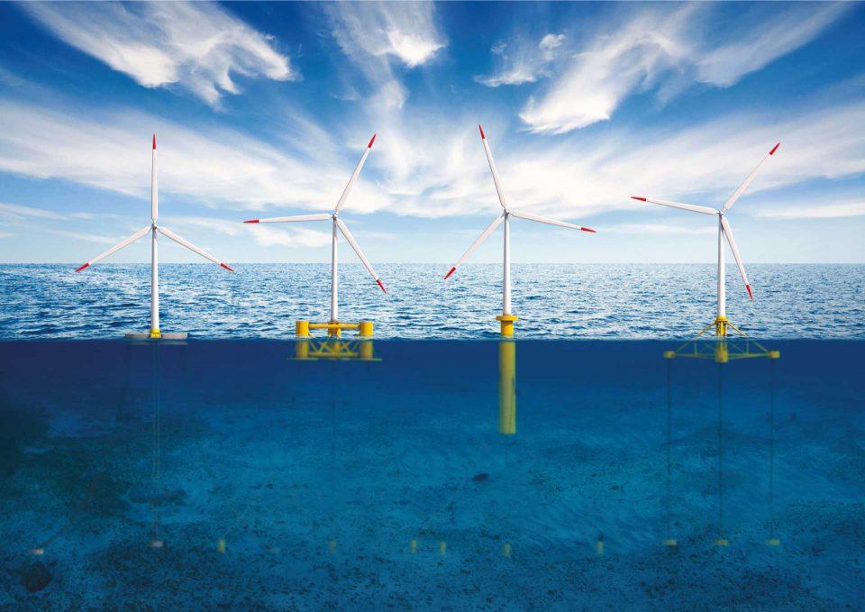 ©Ideol - Floating wind turbines